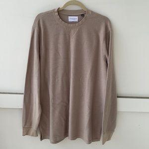 Five Four Tan Long Sleeve Shirt